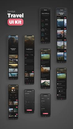 Innovative application in accordance with the modern age. A total of 62 artboards in black and white themes. Designed with UI / UX in mind. Grid-frien… - New Site Android App Design, Ios App Design, Mobile Ui Design, Web Ui Design, User Interface Design, Design Files, Design Design, Website Design Layout, App Design Inspiration