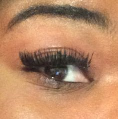 2nd time applying #Day 3 of the Facesofshelmone.com #Facesofshelmone imported lashes #falselashes #lashesextension