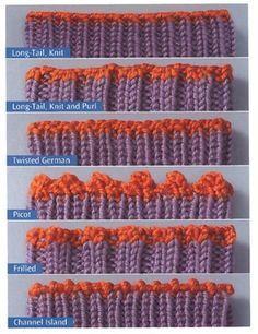 Different types of bind offs....The Sock Knitter's Handbook » Knit Picks Knitting Blog.