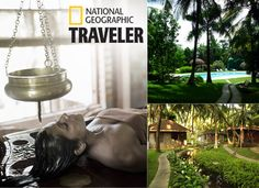 Ayurvedic Healing, Luxury Spa, National Geographic, Garden Sculpture, Outdoor Decor, Top, Travel, Life, Design