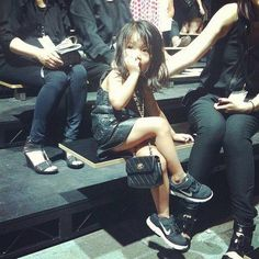 NYW Alexander Wang niece little fashionista Alia Wang.