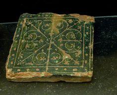 Medieval tile, Copenhagen