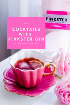 These recipes are created using Pinkster Gin or theri gin jams and other products. Of course, you can replace with other pink gins (ideally with raspberry as one of the botanicals). Recipes include prosecco cocktails, caipiroska, margarita, tea cocktails and more. Which one is your favourite? Pink Gin Cocktails, Fruity Alcohol Drinks, Cocktail And Mocktail, Gin Cocktail Recipes, Drinks Alcohol Recipes, Alcoholic Drinks, Gin Tasting, Gin Lovers