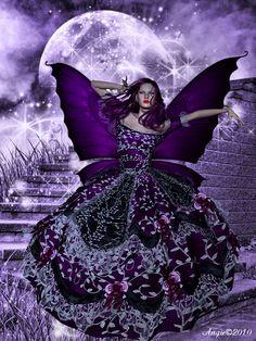 The moon and fairie