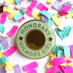 Gilmore Girls enamel pin to show off you super fan status!