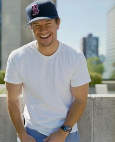everything i love in boys: hat, strong, cute smile, but let's change that b to a p #Pittsburgh  <3