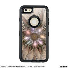 Joyful Flower Abstract Floral Fractal Art OtterBox Defender iPhone Case
