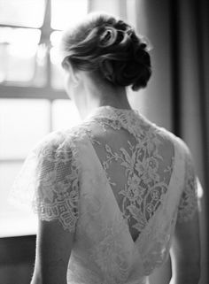 beautiful lace back dress
