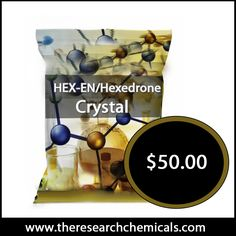 Hexedrone Crystal - http://www.theresearchchemicals.com/new-products-7/hex-en-hexedrone-crystal.html is a synthetic cathinone and the higher homologue which continues the series established by buphedrone and pentedrone. It is only for research purpose.