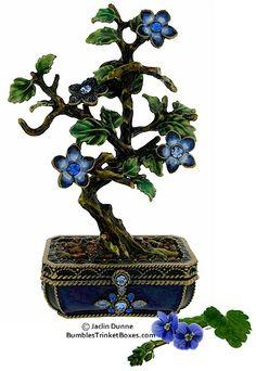 Trinket Box: Bonsai Tree Box