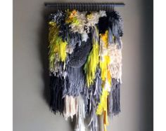 Woven wall hanging / Lanscape n.8 / Handwoven Tapestry by jujujust