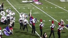Lake Travis High school marching band #Tuba Section end up in hilarious pile-up