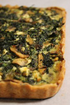 Cocina – Recetas y Consejos Spinach Recipes, Veggie Recipes, Vegetarian Recipes, Healthy Recipes, Quiches, Empanadas, Kitchen Recipes, Cooking Recipes, Pizza Cake