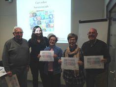 Avui últim dia del curs sobre xarxes socials. Al 2015 programarem més cursos d'informàtica bàsica i xarxes socials.