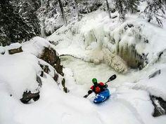 Winter Whitewater Kayaking