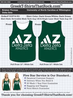 Delta Zeta 510714proofR1 ...................................................  WORK 1 ON 1 with a member of our design team until your T-Shirt idea is perfect.... and ALWAYS get them on in time (or before you even need them) at the price you want!  ...................................................  Just click this design, it will take you to our website where you can  upload your ideas and get everything started!