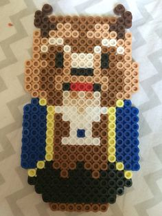 The beast from Disney's beauty and the beast perler bead