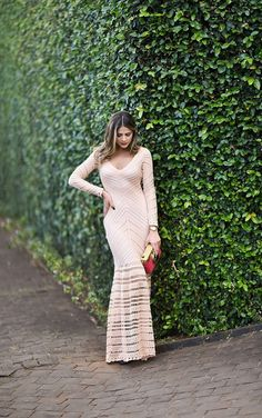 Maxi Dress by Galeria Tricot / Bag Dolce & Gabbana === Thássia Naves