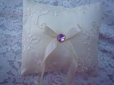 Wedding Ring Pillow/ Ring Bearer Pillow/ Wedding Pillow/ Wedding Ring Pillow/ Ring Bearer/ Lace Ring Pillow/ Classic wedding/ Wedding rings by DoridesignArt on Etsy Ring Pillow Wedding, Wedding Pillows, Lace Ring, Ring Bearer, Handmade Wedding, Wedding Rings, Classic, Etsy, Ring