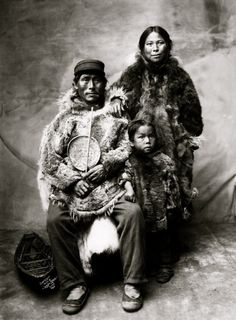 There are two main tribes that live in Greenland, the Eskimos(that means eaters of raw meat), and the Inuits(that means the people).