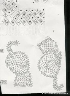 Los dos, foto y picado - Choni Encajeras - Picasa Albums Web Cute Crochet, Irish Crochet, Crochet Motif, Needle Tatting, Needle Lace, Pagan Decor, Bruges Lace, Bobbin Lace Patterns, Lacemaking