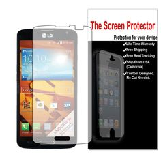 3x HD Clear LCD Screen Protector Film Saver for LG OPTIMUS L90 (D415 T-Mobile) #UnbrandedGeneric