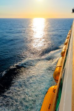 Smooth sailing. #voyageroftheseas