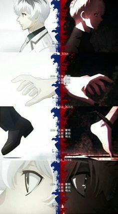 Haise/Kaneki Parallels