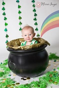 12 Best St Patricks Day Photoshoot Ideas Images Newborn Pictures