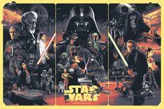 Star Wars triptych