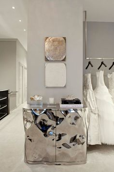 Monique Lhuillier's glittering new flagship store on Manhattan's Upper East Side
