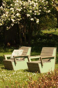 Lounge set Elan van Just Try Me - #tuin #meubels #lounge
