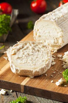 Raw White Organic Goat Cheese by brenthofacker
