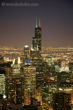 "Sears Tower, Chicago - when we lived there, my son thought the name for it was ""Serious Tower"" - he had a good point!"