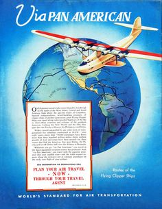 Pan America Plan Your Air Travel Now