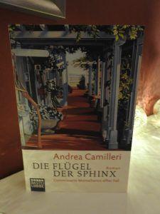 Andrea Camilleri -Die Flügel der Spinx - tinaliestvor