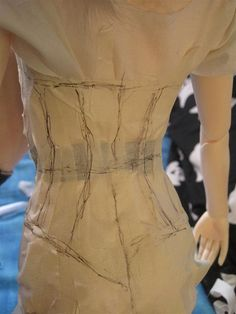 How to Make a Corset Pattern (that fits perfectly) | Mexico City's Water Monster