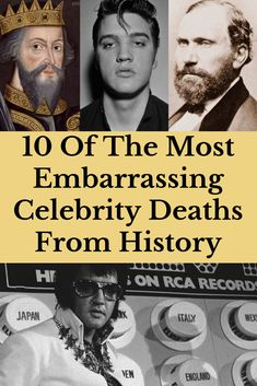 Ironic, shocking, or just plain gross, these embarrassing celebrity deaths from history show that not everyone gets to go out with dignity. Best Body Weight Exercises, Strict Parents, Celebrity Deaths, Stay Young, Yoga Benefits, Good Fats, Butt Workout, Going Crazy, Super Funny