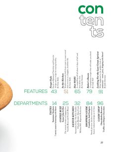contents magazine layout - Google Search