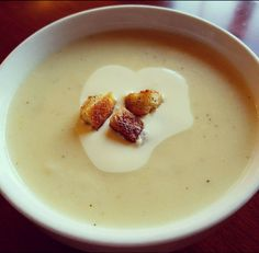 Cauliflower Fondue Soup