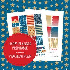 Wonder Woman MAMBI Happy Planner Printable - Weekly Set, Happy Planner Stickers, PDF Instant Download