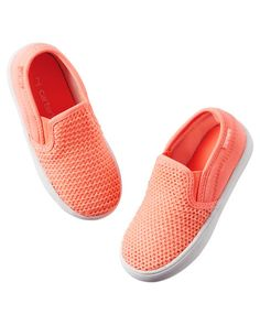 f4a3f263ea64 Carter s Neon Slip-On Shoes Toddler Outfits