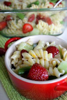 Fruit Filled Pasta Salad,  Go To www.likegossip.com to get more Gossip News!