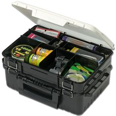 Meiho Tackle Box VS 3078 430 x 295 x 186 mm Black (8962) -- You can find out more details at the link of the image.