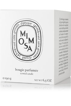 Diptyque - Mimosa Scented Candle, 190g - Colorless