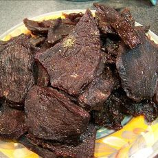 Sweet & Peppery Beef Jerky