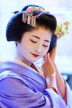 Maiko Satsuki !三年連続 売花奨励賞一等賞(祇園甲部・紗月さん) : 花景色-K.W.C. PhotoBlog
