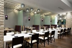 SSDG Interiors Inc restaurant Miku Award winning interior design