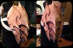 Archon spaulder WIP by Feral-Workshop.deviantart.com on @deviantART