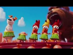 Max and Duke Sausage Party - The Secret Life Of Pets - Angel TV
